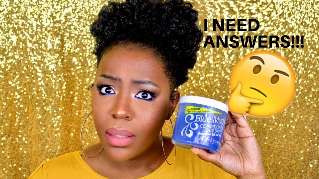 Hair Grease For Natural Hair Blue Magic Does It Work Natural