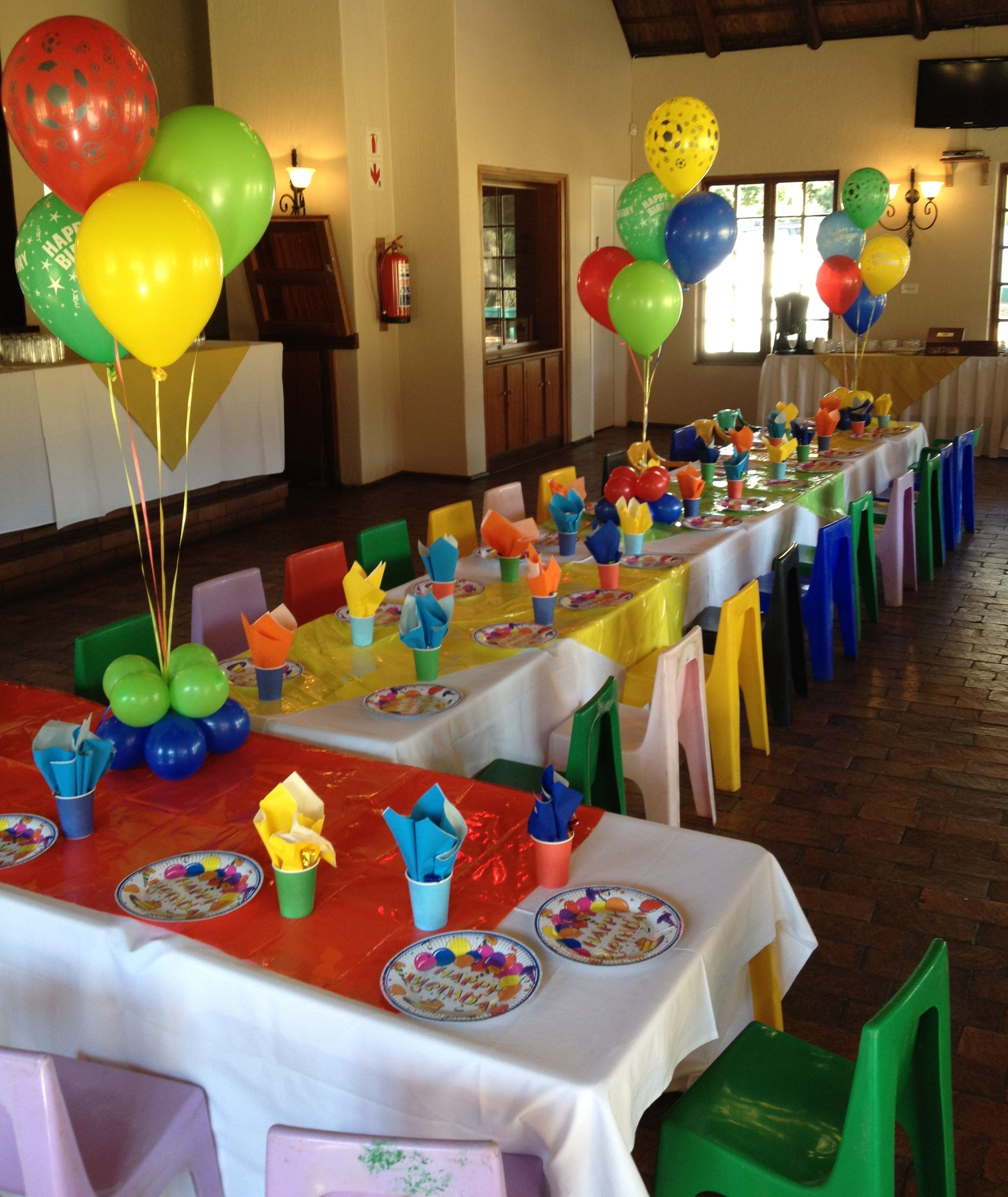 Good colors for Sesame street party or Lego party
