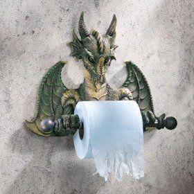 Dragon Themed Bathroom Decor Nice