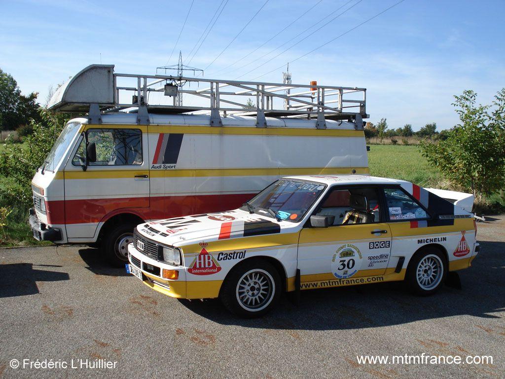 VW LT45 Audi Sport & Audi Sport Quattro HB Team