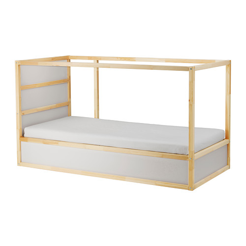 Kura Reversible Bed White Pine Loft Bed Frame Ikea Kura Bed