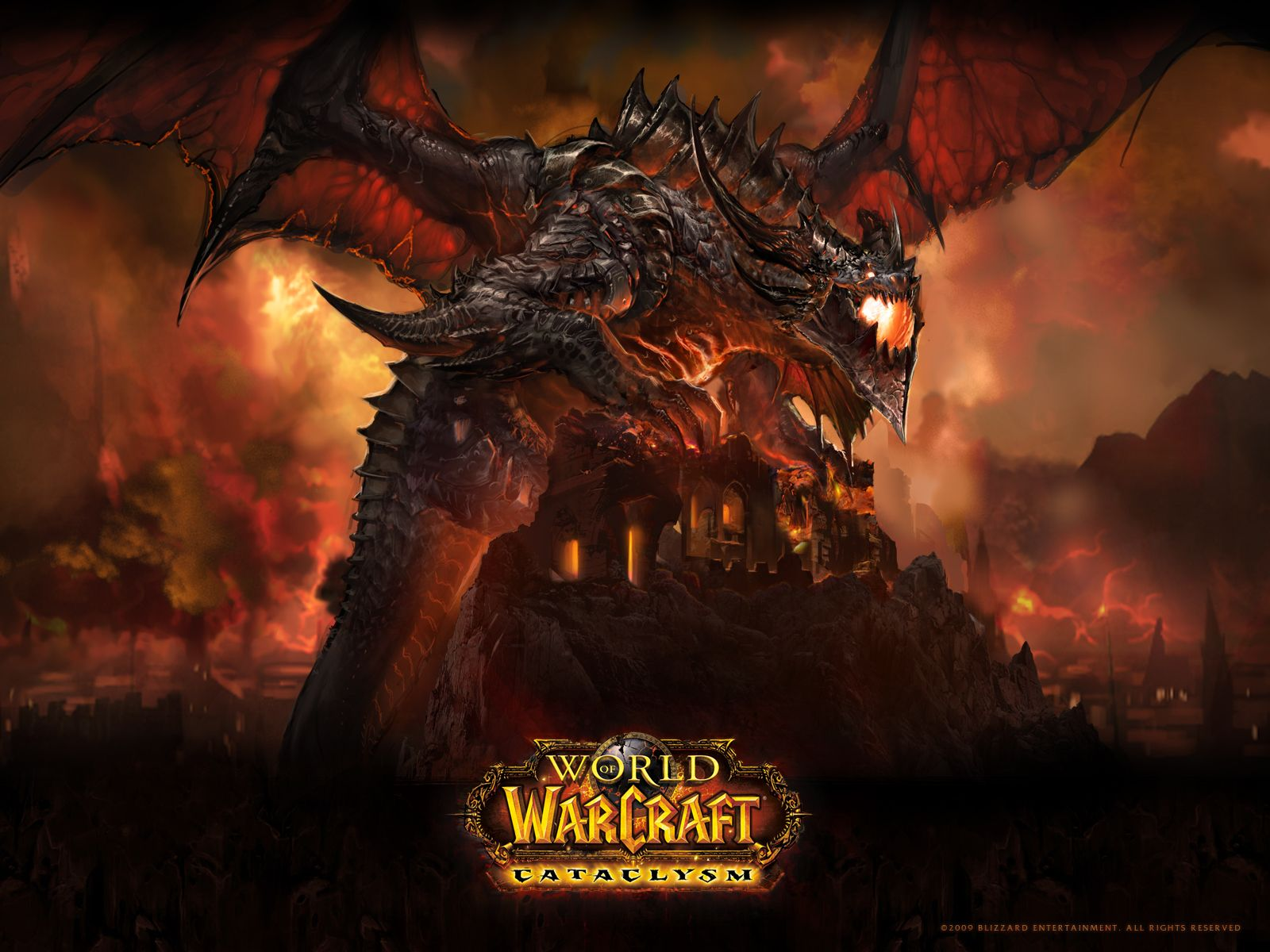 a game I played and loved World of warcraft wallpaper