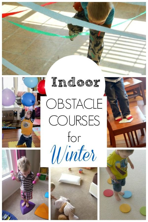 Obstacle Course Ideas  How Wee Learn is part of Indoor activities for toddlers - Exploring, creating, and discovering is how we learn! Focusing on creative learning activities for kids!