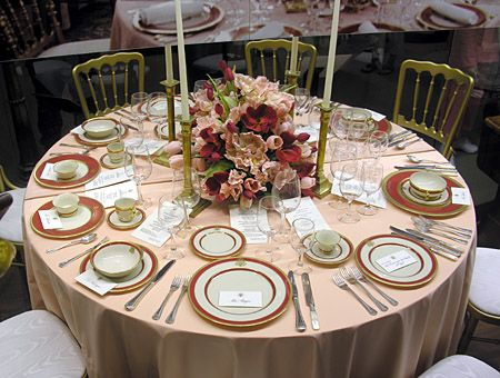 White House China And Table Settings
