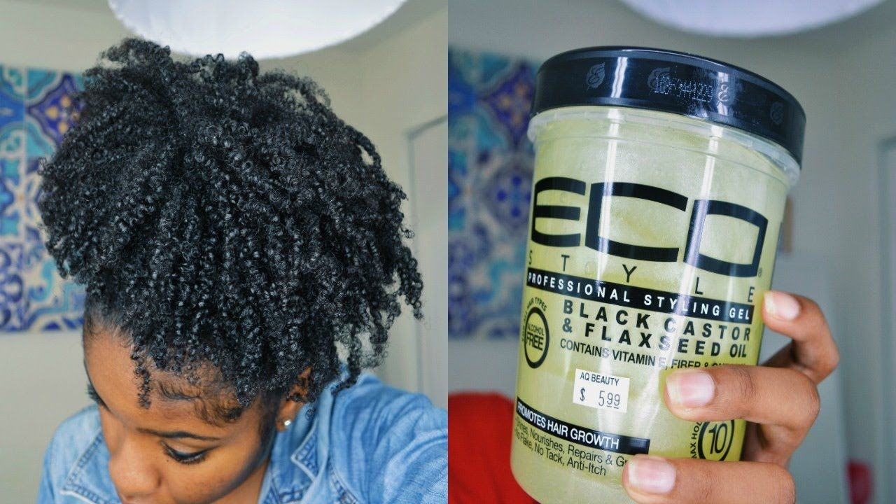 New Eco Styler Black Castor Flaxseed Oil Gel Wash N Go Review Flaxseed Gel Gel Wash Eco Styler Gel