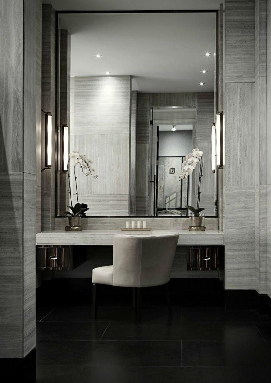 Espejos de baño grandes para decorar el interior   decoo ...