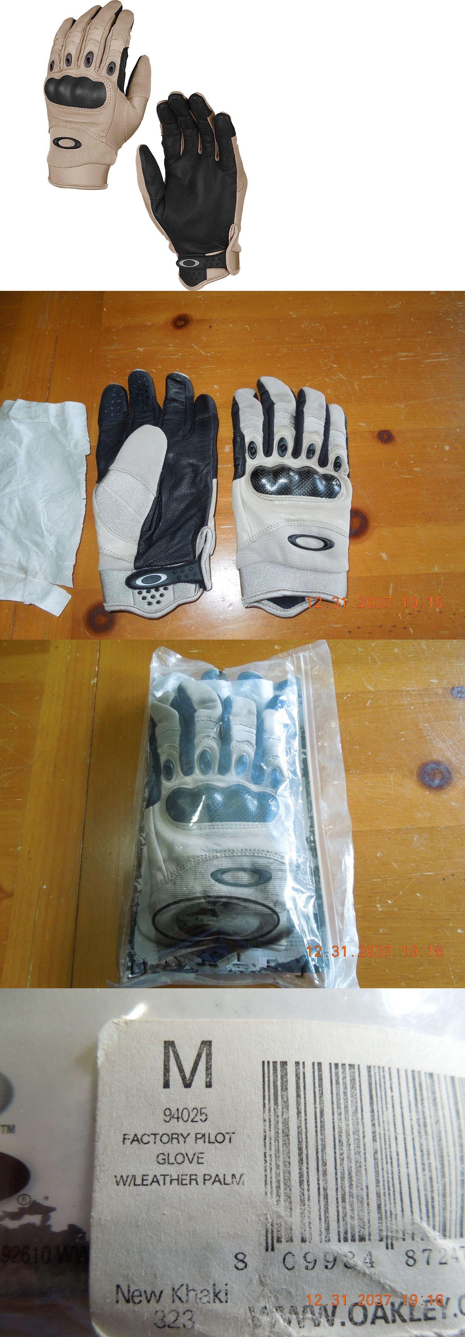 587418048c Tactical Gloves 177898  New Oakley Si Factory Pilot Assault Glove Tactical  Ns Khaki 94025 Large