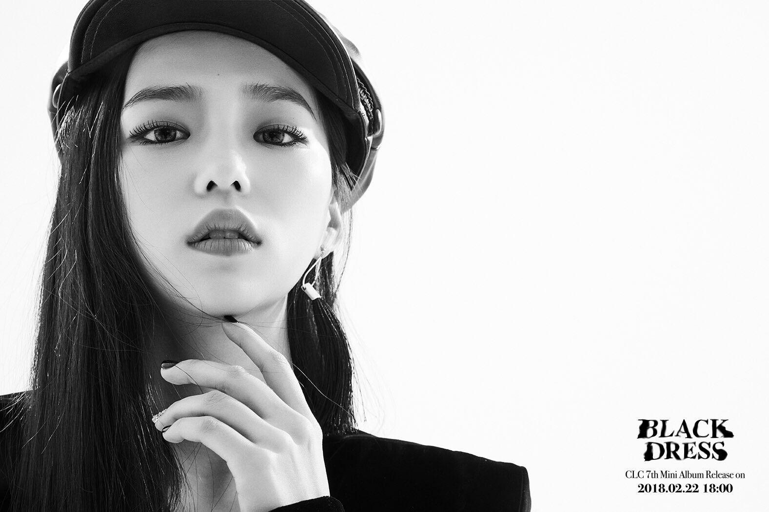 Resultado de imagen de yeeun blackdress