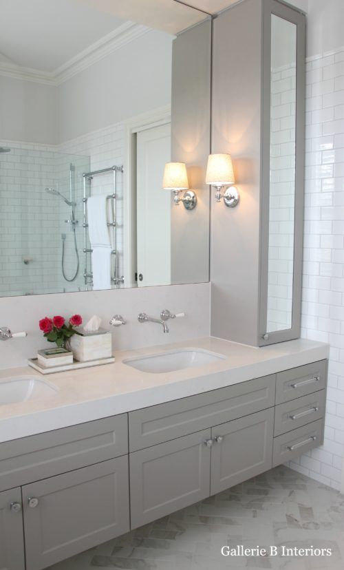 My hamptons style bathroom blissful bathrooms for Muebles de bano bonitos