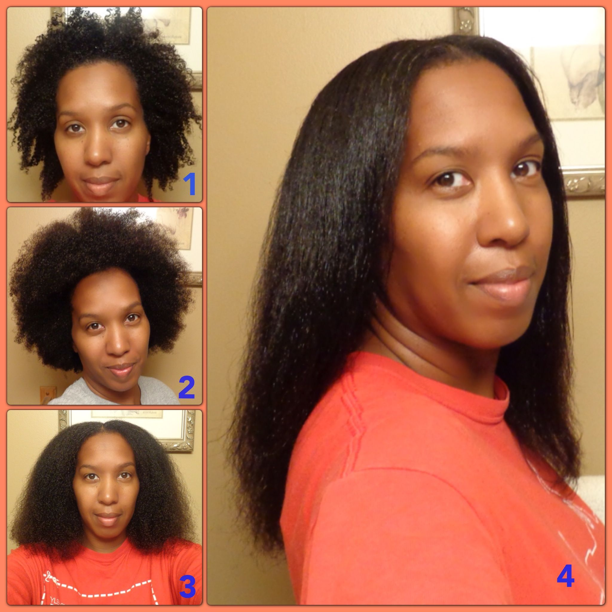 My Combination 4B/4C Hair Pic 1 Freshly washed hair (no