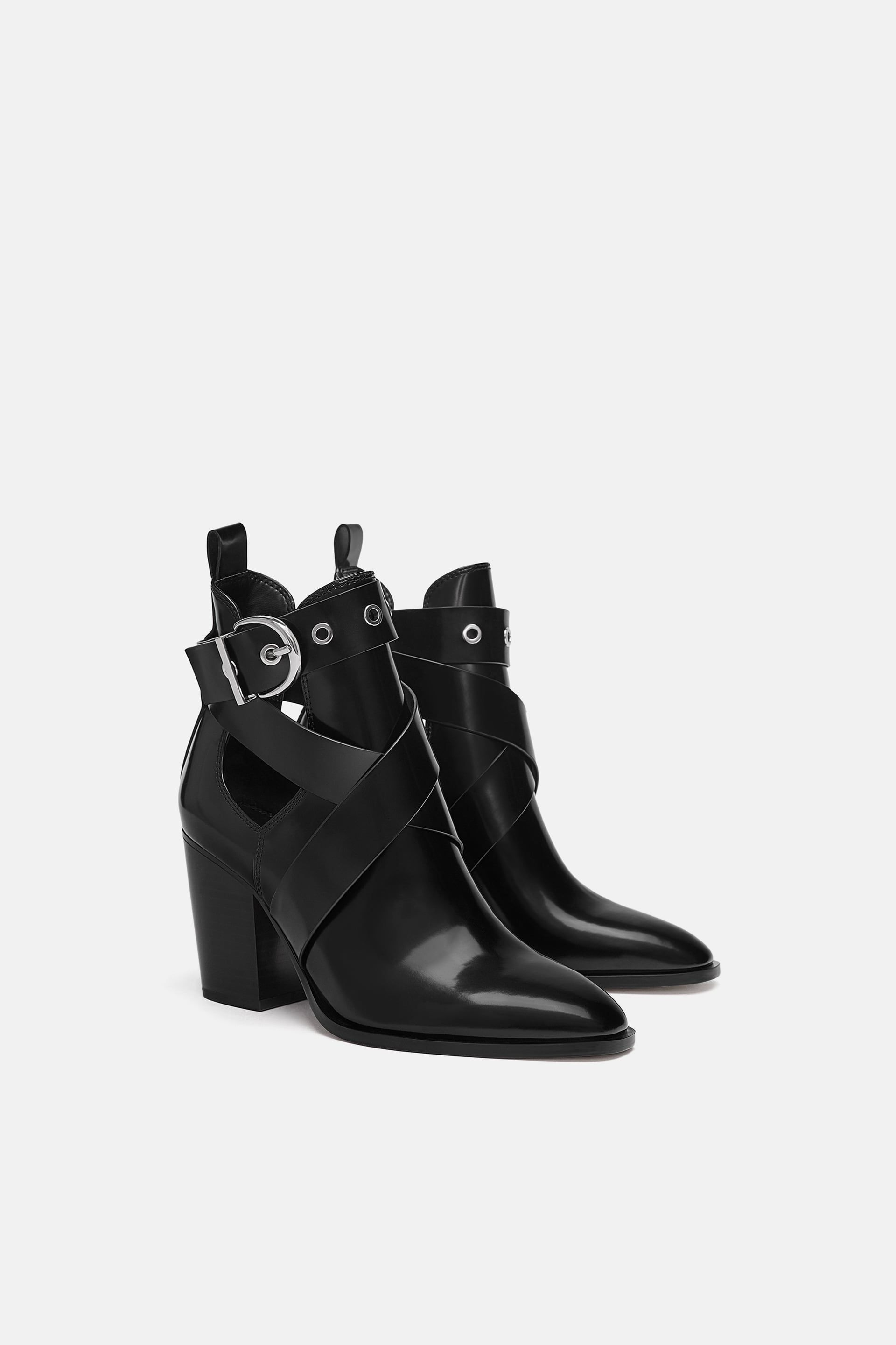0c9bef1eff69 BOTÍN TACÓN CUT OUT in 2019 | Heels/Shoes | Boots, Heeled boots, Shoes