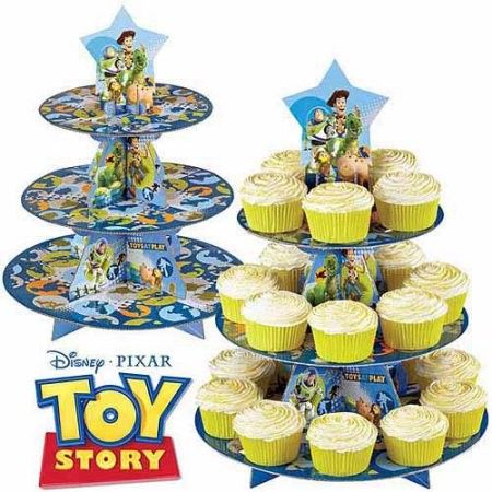Astounding Home Toy Story Cupcakes Toy Story Party Toy Story Birthday Cards Printable Trancafe Filternl