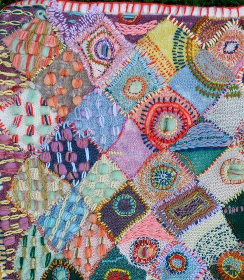 amanda goode knitting, embroidery? hmmm