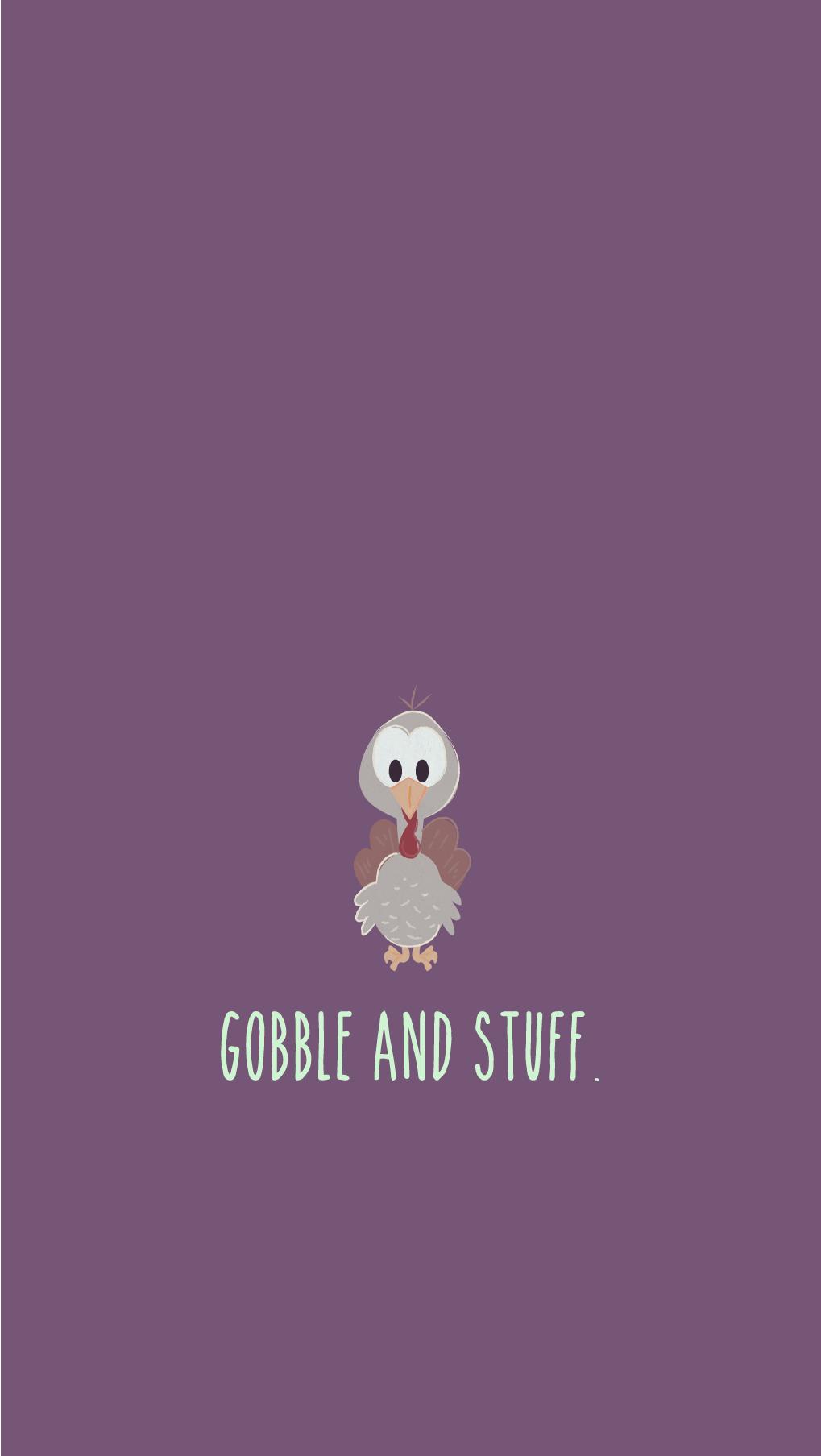 freebie thanksgiving turkey cell phone background phone