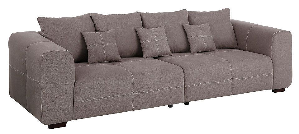 Premium collection by Home affaire Big-Sofa »Maverick« Jetzt - Wohnzimmer Grau Orange