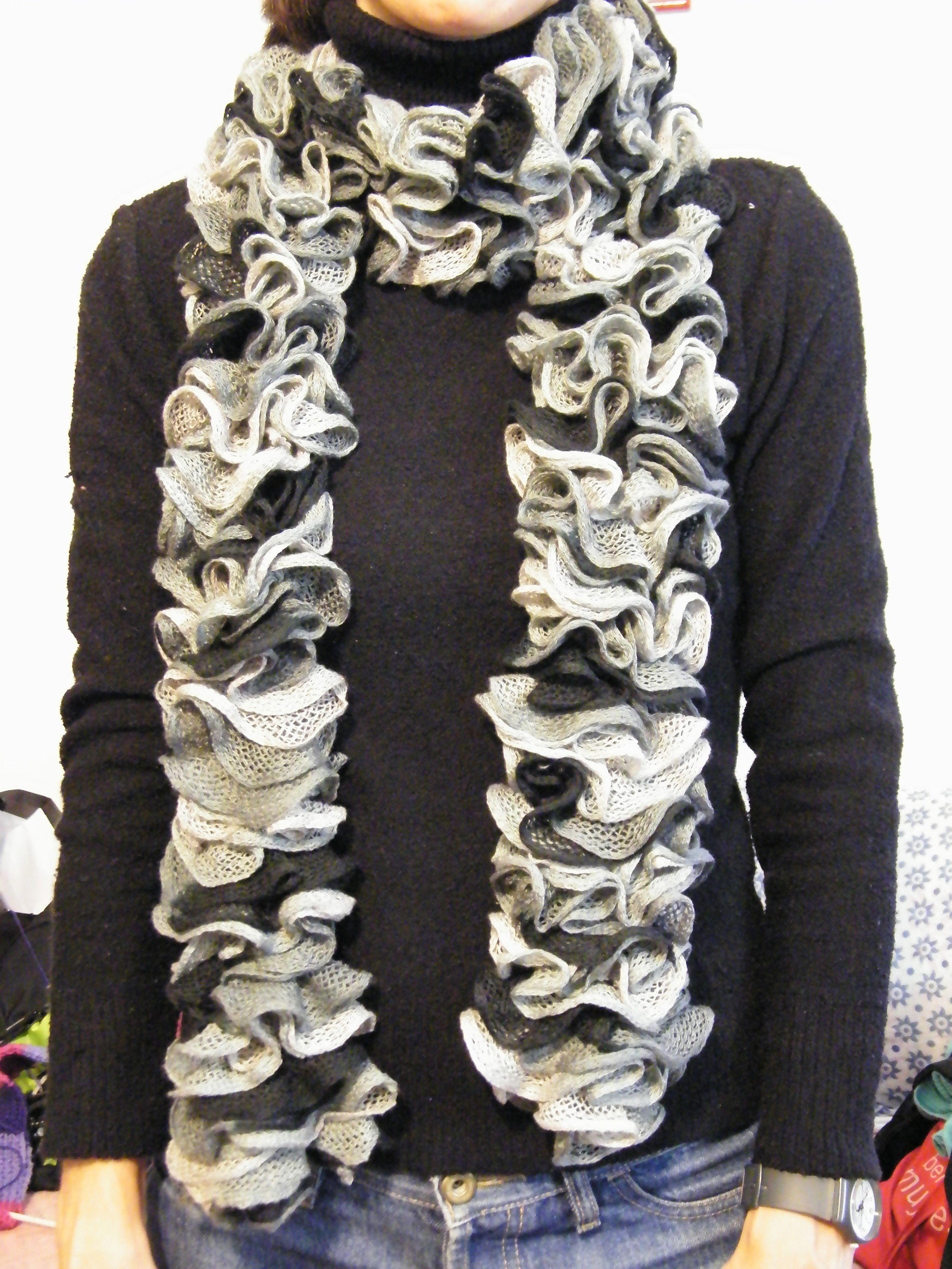 Bufanda en lana Primor