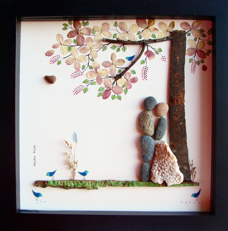 Unique Wedding Gift Personalized Pebble Por Medharode