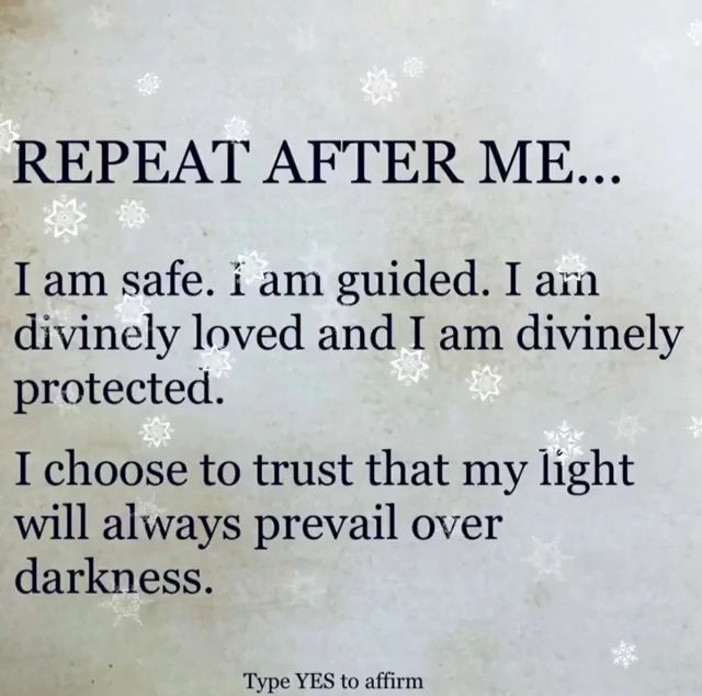 REPEAT AFTER ME ...