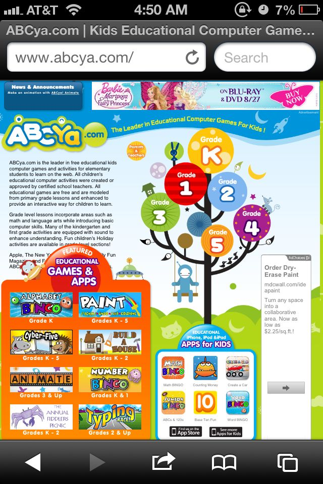 Website Review ABCya!