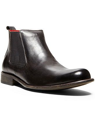 Steve Madden Shoes, Bruklyn Lace Up Boots - Mens Boots - Macy's ...