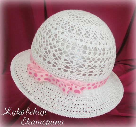 GORRO CON FLOR PARA NIÑA TEJIDO A CROCHET CON ESQUEMA | crochet hats ...
