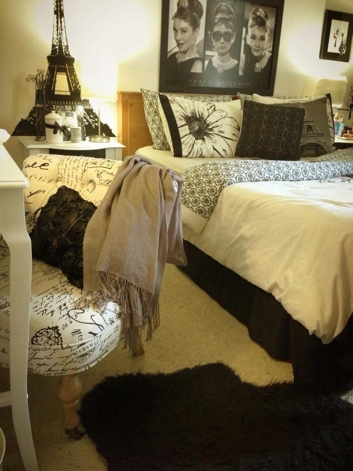 audrey hepburn, bedroom, inspiration, pink - image #4533838 ...