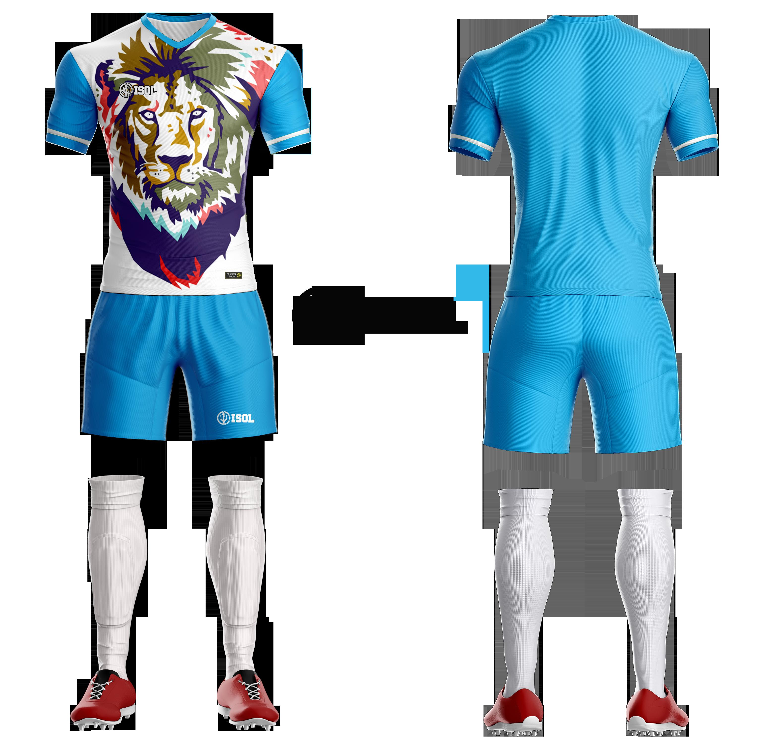 Desain Baju Bola Polos