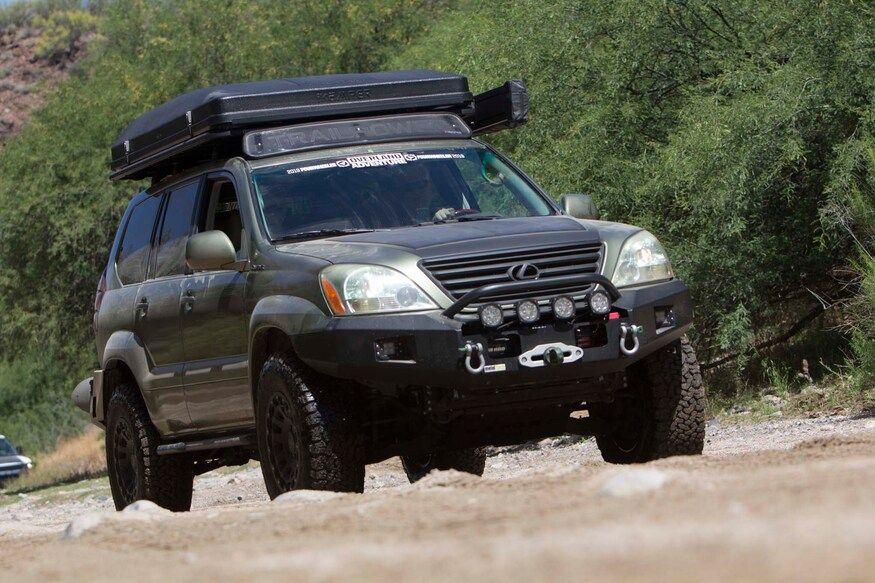 Overlanding In Luxury Scott Lewis's DIY 2008 Lexus GX 470