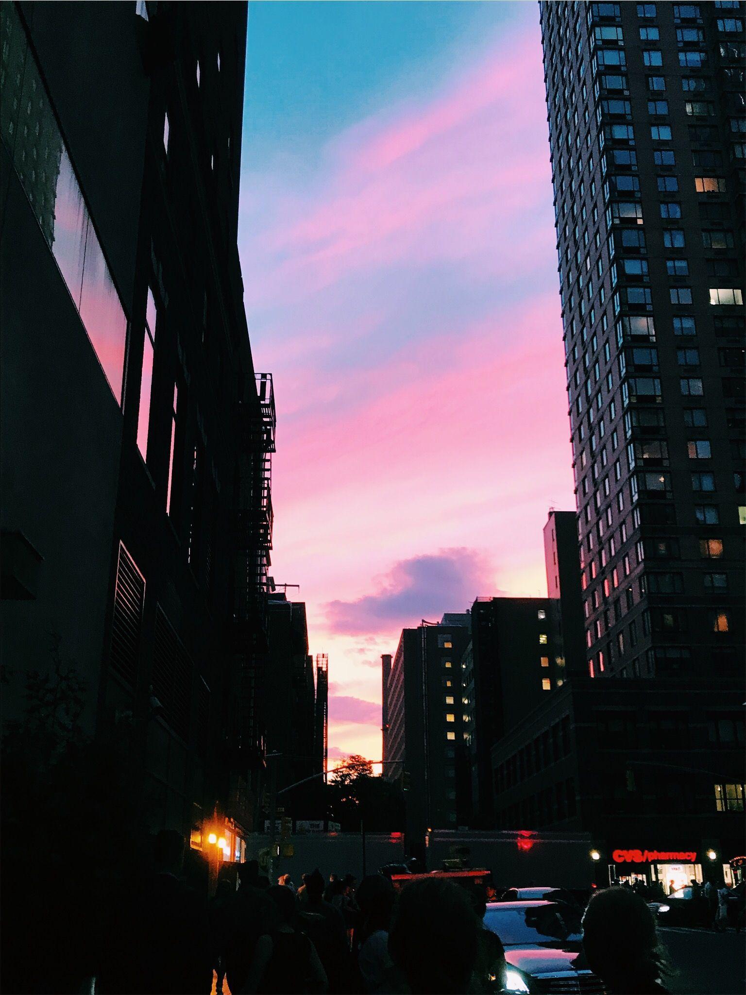 Pinterest Cosmicislander Sky Aesthetic Pretty Sky Sunset City