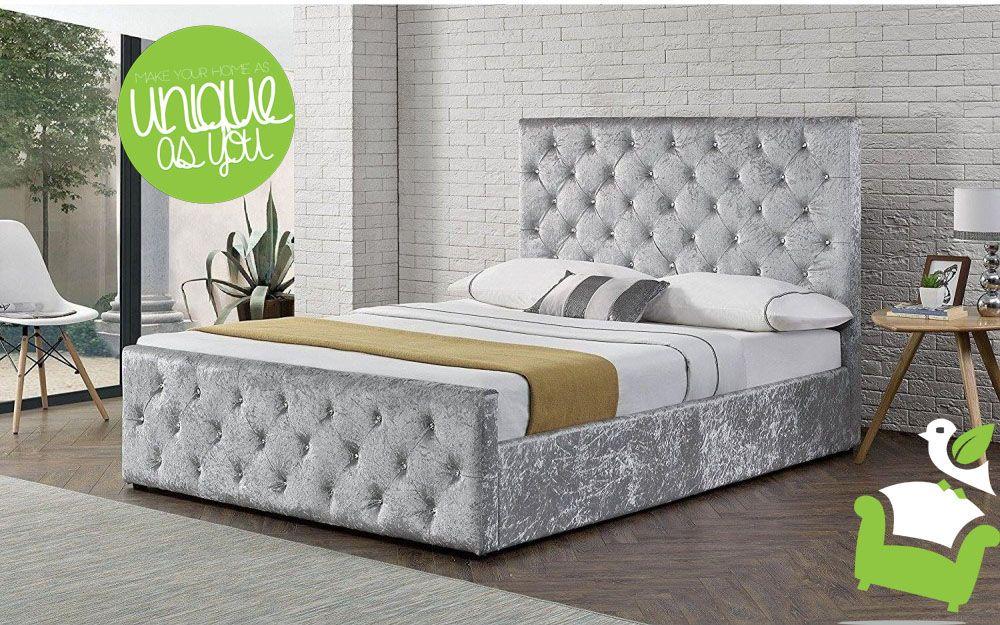 Oxford Sidelift Ottoman Bedroom beds DesignerBeds