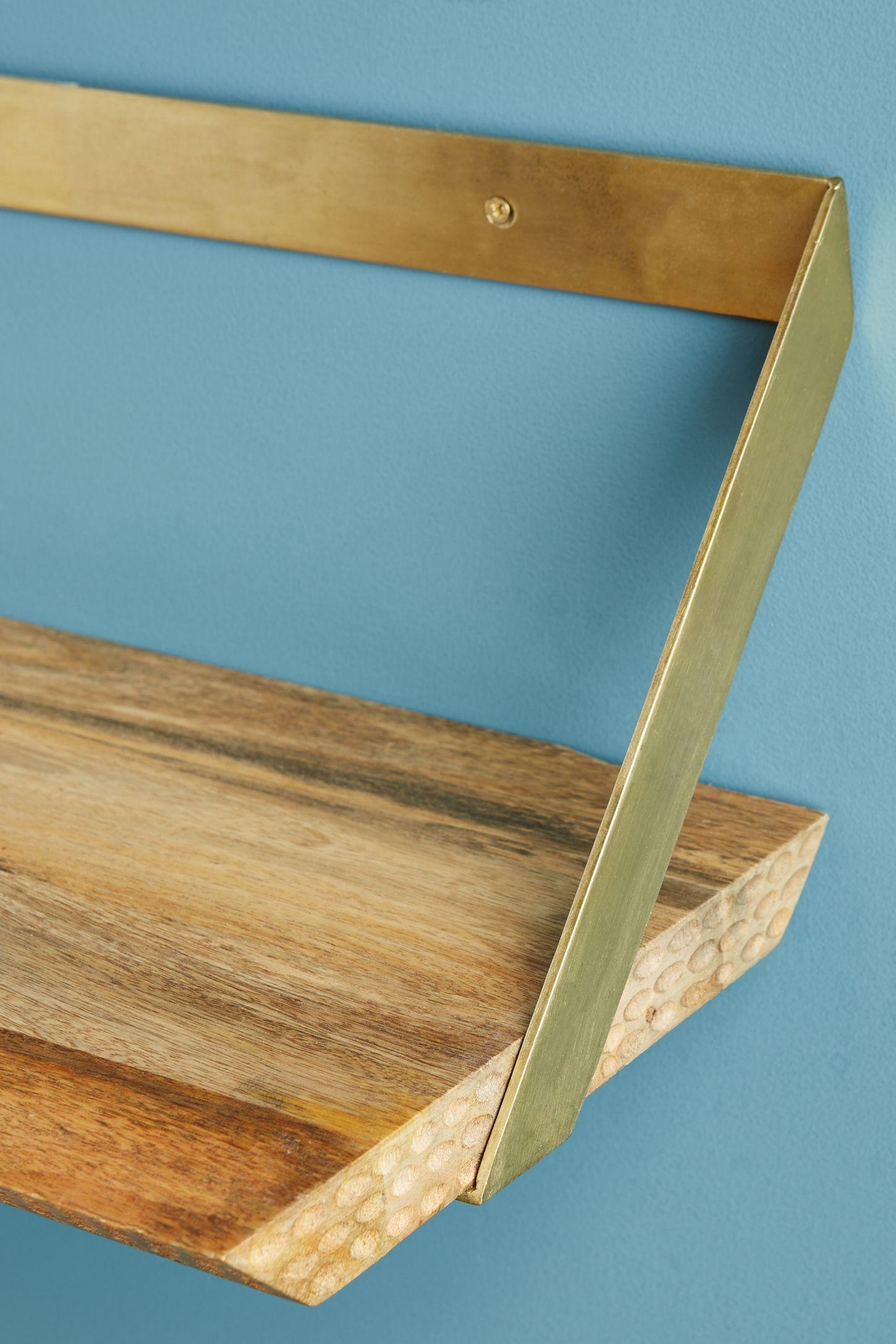 Beveled Wood Shelf | Wood shelf, Shelves and Woods