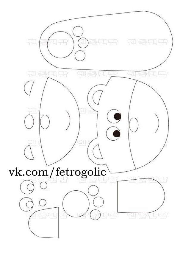 Zapatitos para niños fáciles de hacer con moldes | para niños ...