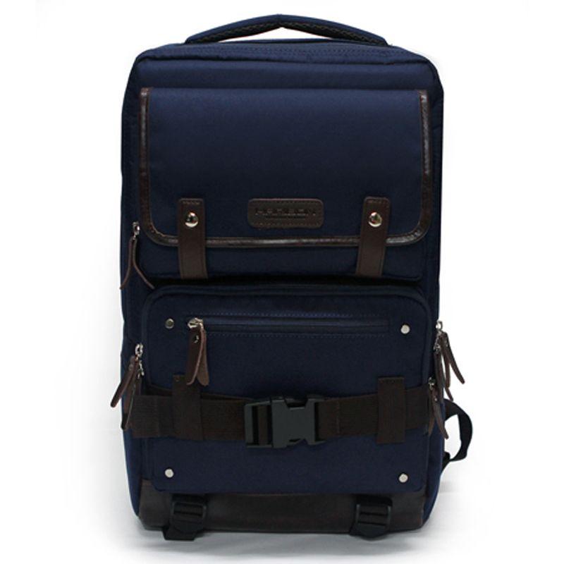TOPPU Mens Laptop Backpack - S. Korea College School Bag , Front ...