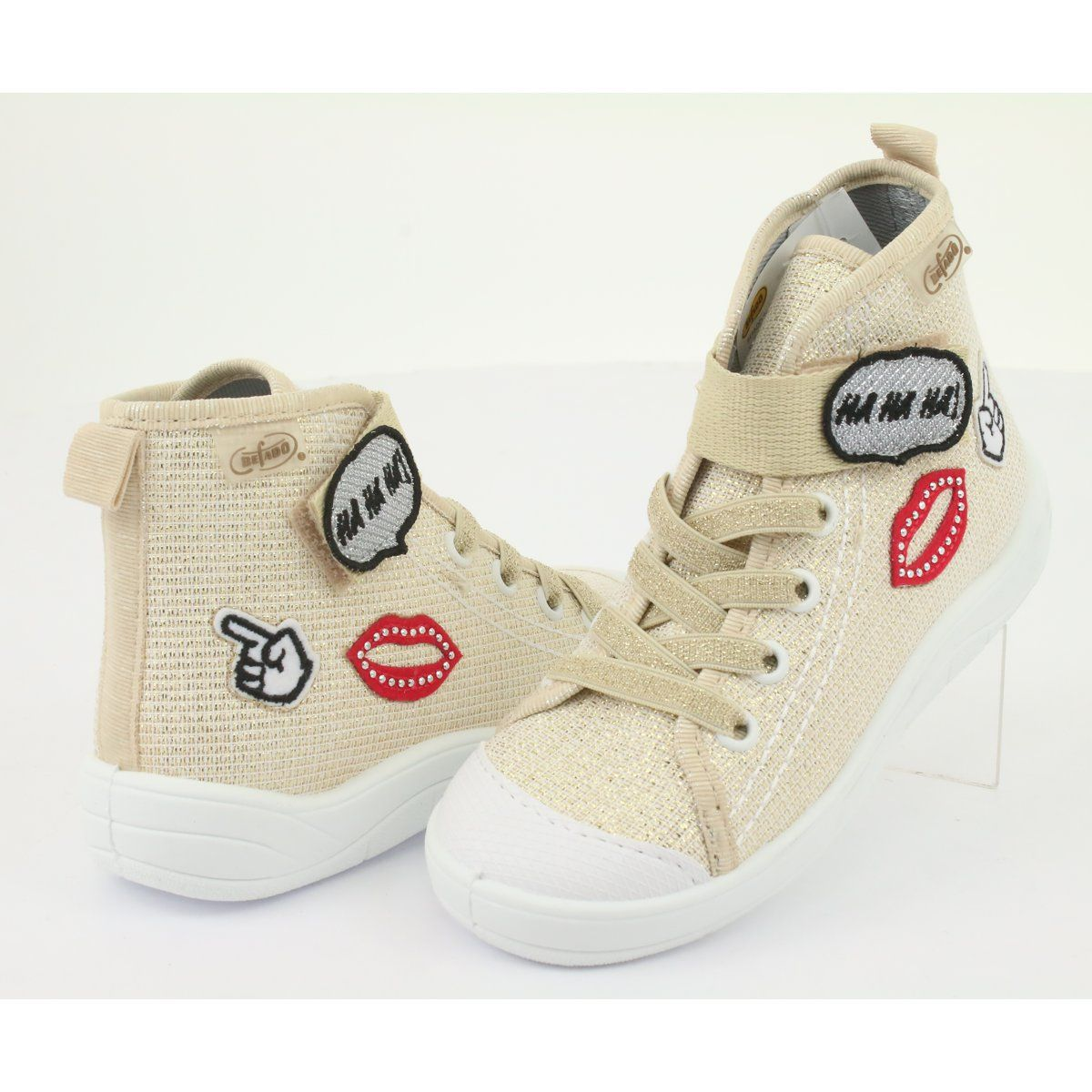 Befado Obuwie Dzieciece 268x069 Brazowe Szare Converse High Top Sneaker High Top Sneakers Converse Chuck Taylor High Top Sneaker