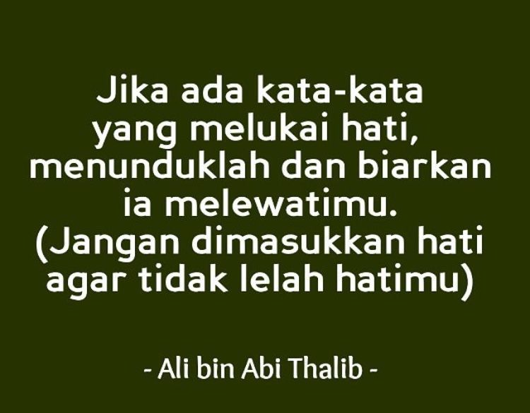 Kata Kata Bijak Ali Bin Abi Thalib Tentang Sahabat
