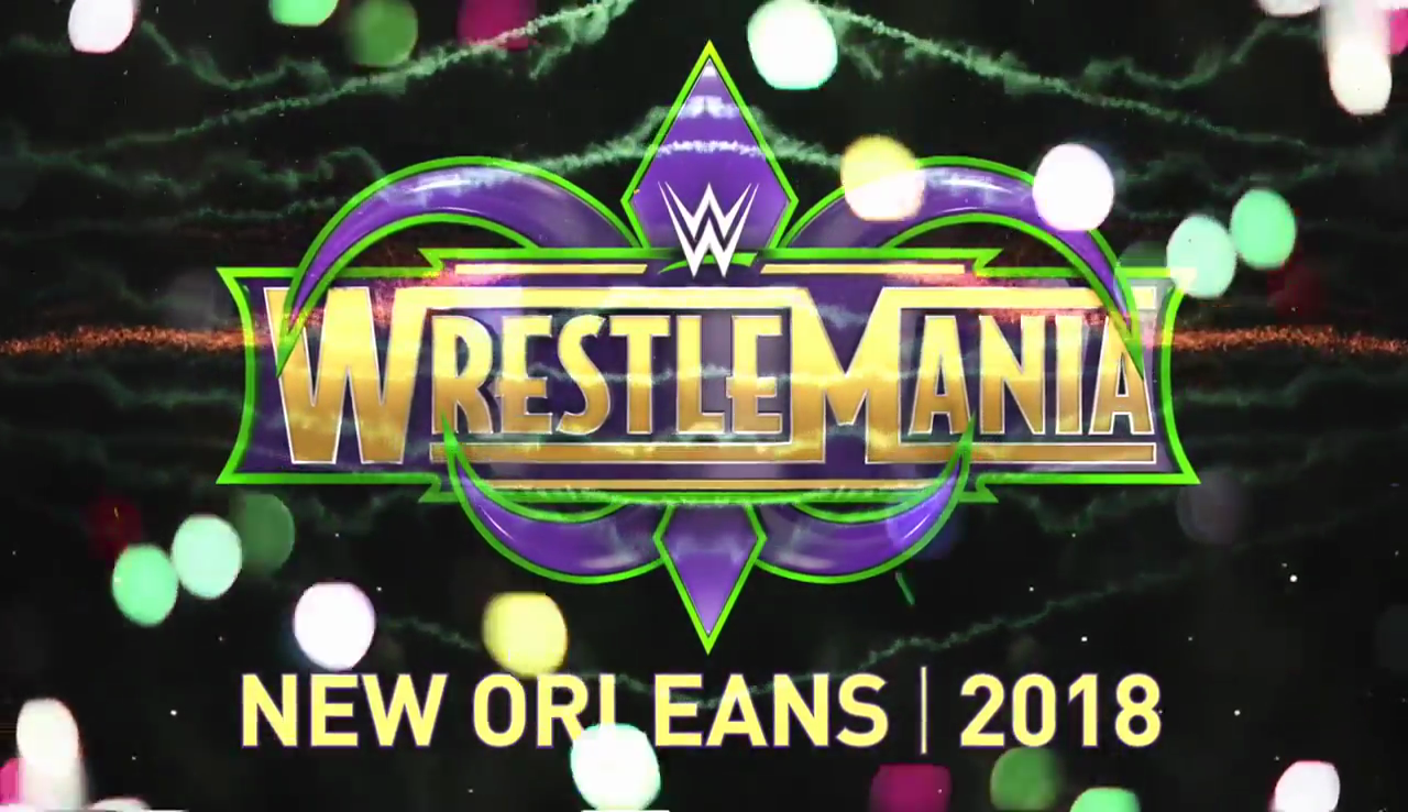 Wwe Wresltemania 34 New Orleans 2018 Wwe Wrestlemania Wrestlemania Wwe Wwe Wrestlers