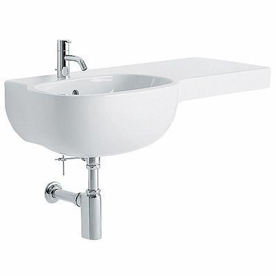 asymmetrical washbasin 90 right – Washbasins - Pozzi Ginori ...
