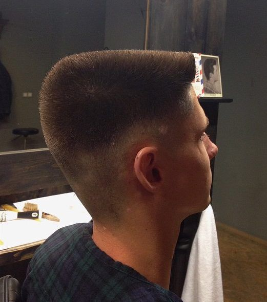 awesome 30 Exquisite Flat Top Haircut Ideas - Classy and Timeless Choice Check more at http://stylemann.com/best-flat-top-haircut/