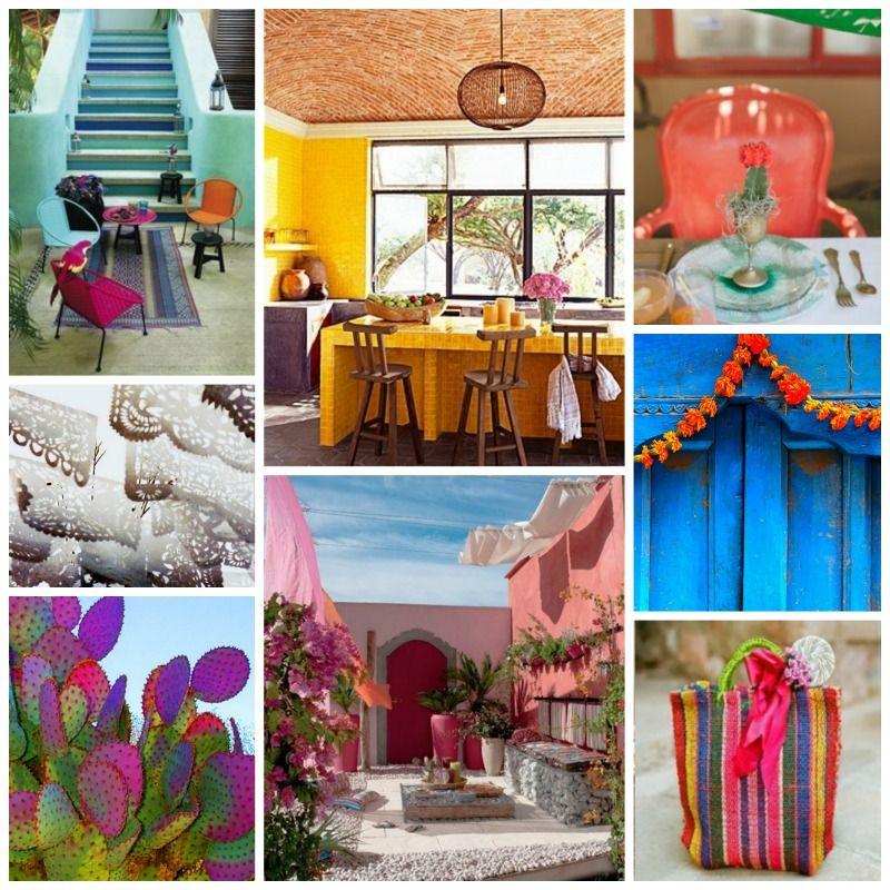 Emerald green interiors mexico collage auction ideas for Idea interior mexico