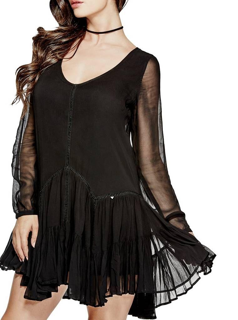Pinja Dress | shop.GUESS.com