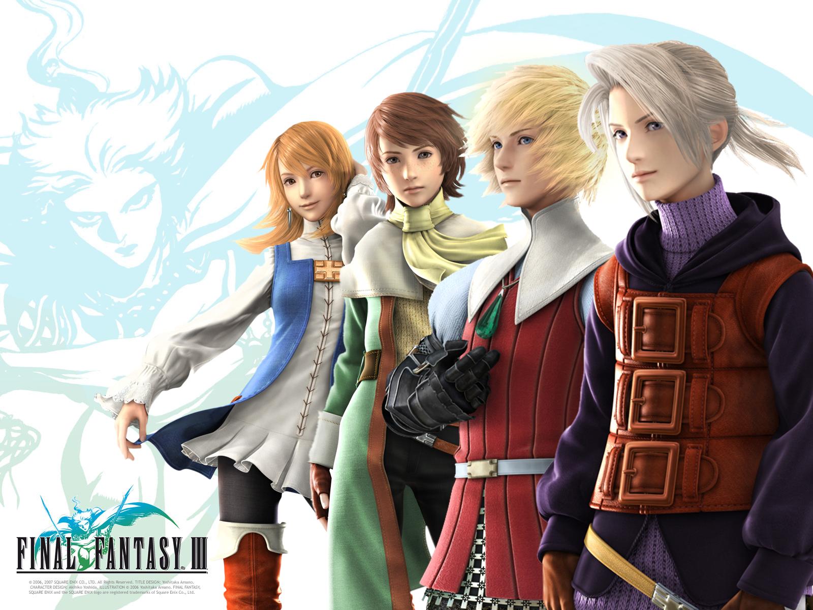 Final Fantasy Iii Wallpaper 5 Fotos