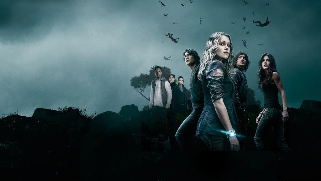 The 100, season 4, tv show, cast, 4k wallpaper