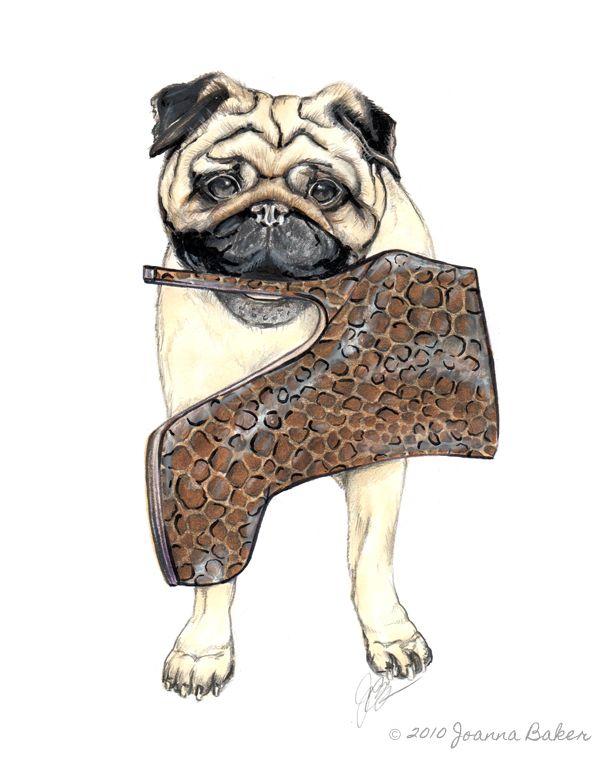 Joanna Baker - Fashion Art Design Creative Blog: Vogue Pug...