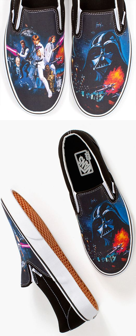 69274a7dcf Vans x Star Wars    A New Hope    Classic Slip-on