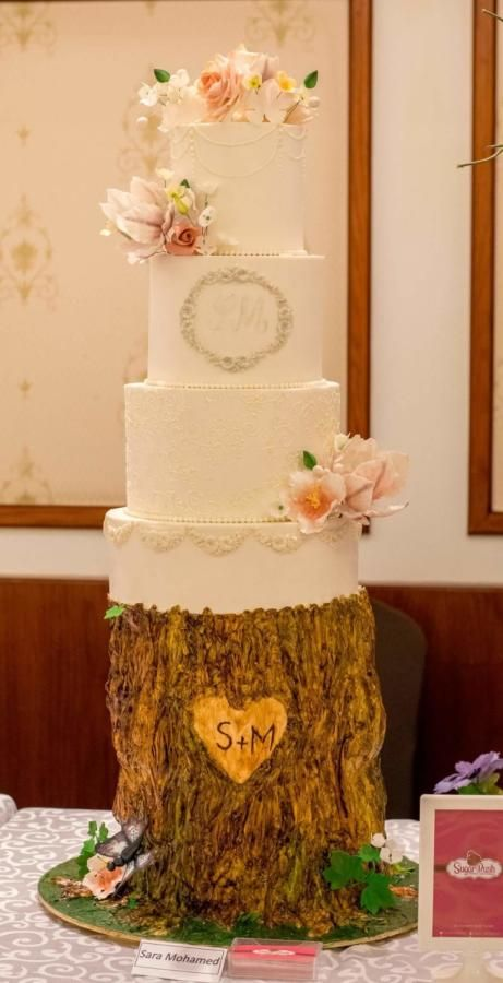 Love Story wedding cake - Cake by Sara Mohamed | my work | Pinterest ...