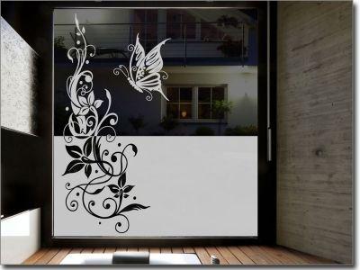Sichtschutz Fenster Ornament Glass Doors Interior Frosted Window Film Glass Design