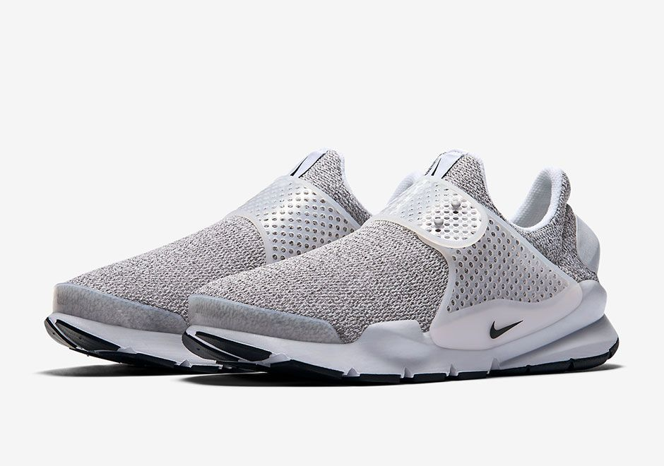 huge selection of 70f26 44bf9 The Nike Sock Dart Metro Grey (Style Code  will release in Spring 2017  featuring a marbled grey upper and transparent midfoot strap.