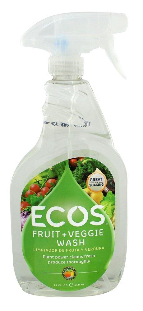 Earth Friendly Ecos Fruit Vegetable Wash 22 Fl Oz Fruit And Vegetable Wash Fruit Veggie Wash Fruit