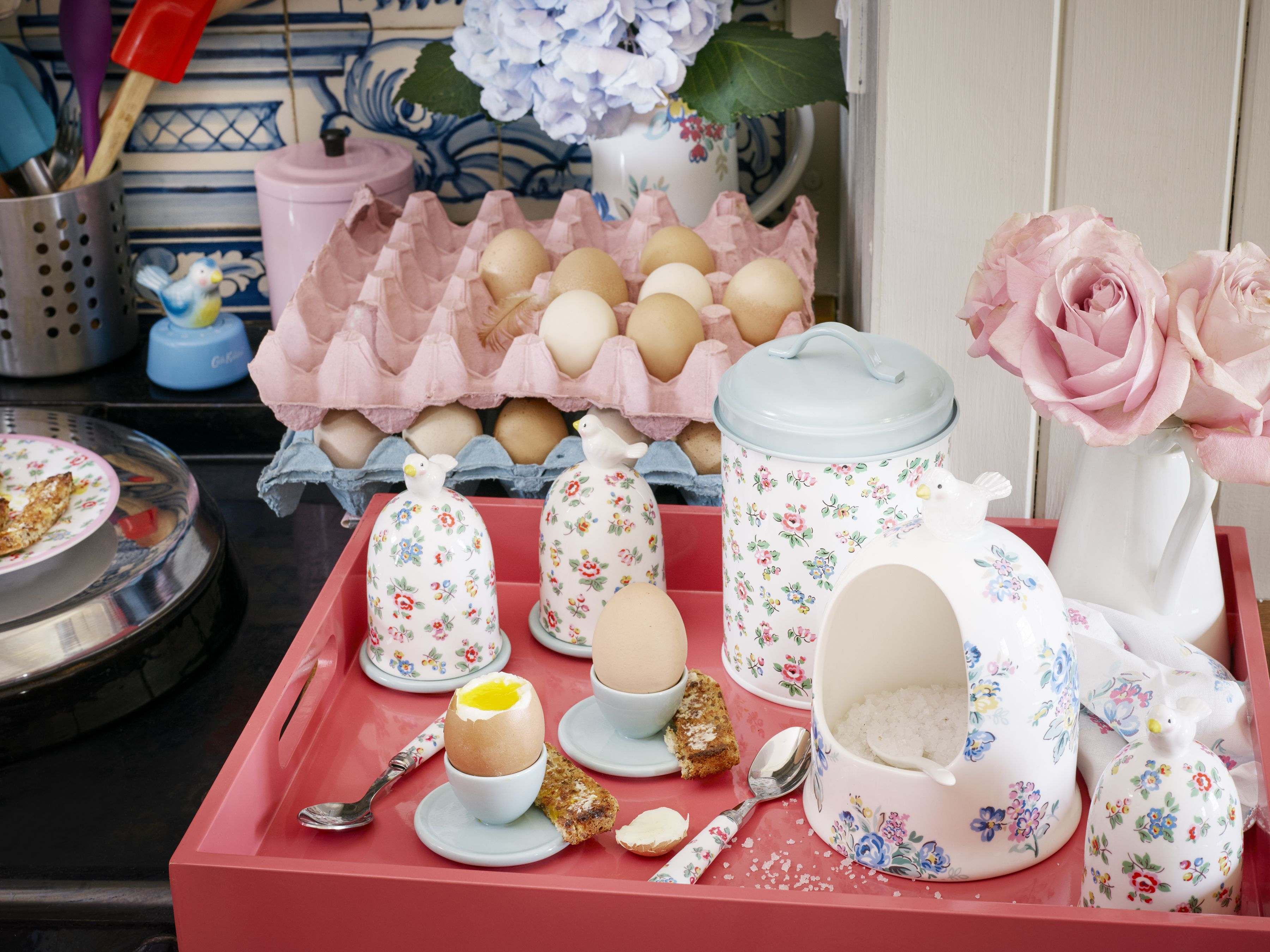 Highgate Rose China Collection Cath Kidston Spring Summer
