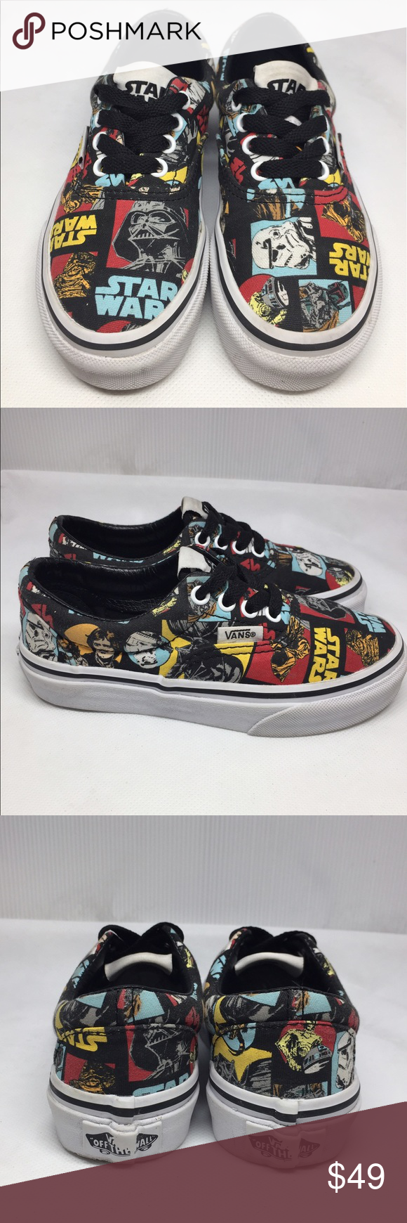 4fedfa381ddd4e Star Wars Vans Authentic RARE limited edition Rare Limited Edition Star  Wars Vans Authentic lace up